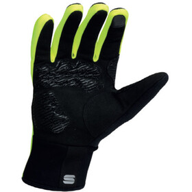 Sportful Essential 2 Cykelhandsker, black/yellow fluo